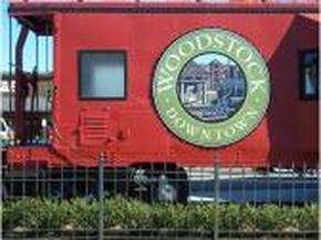 Woodstock Train Caboose