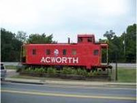 Acworth Train Caboose