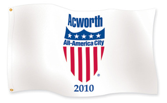 City of Acworth voted all american city for 2010