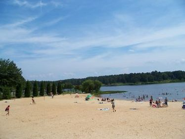 Cauble Park Beach at Lake Acworth